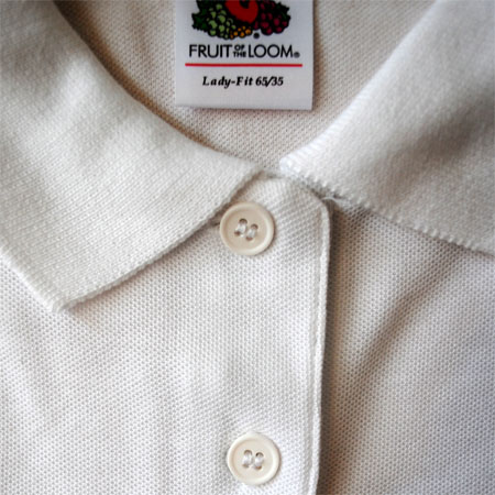 Custom Printed Clothing - Polo Shirts - Fruit of the Loom Lady-Fit ... 383a987cc8